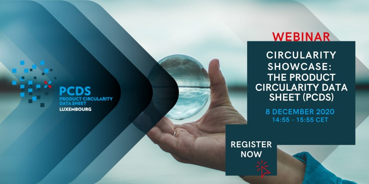 Circularity Showcase: The Product Circularity Data Sheet (PCDS)