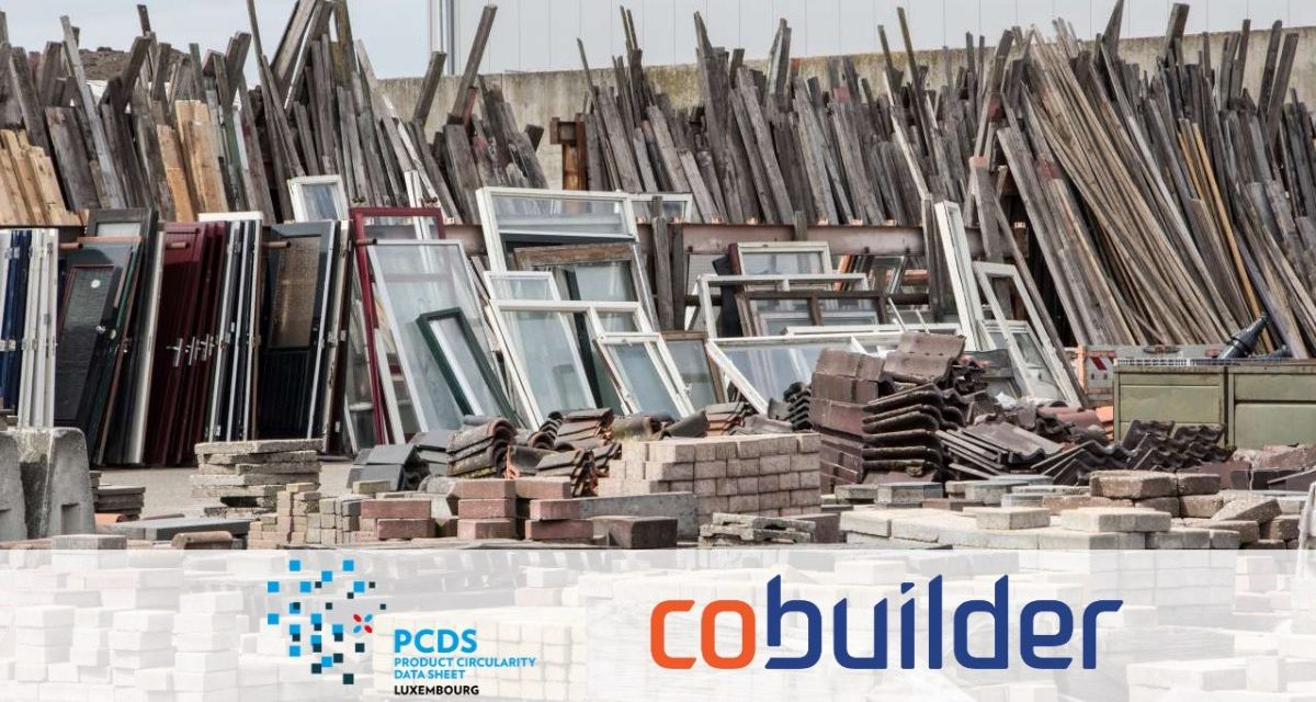 The Product Circularity Data Sheet is released to thousands of users internationally through Cobuilder Platform